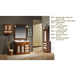 Mueble Baño Clasico 95