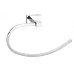 Toallero oval noa cromo noa08 comados modernos for Toalleros electricos cromados