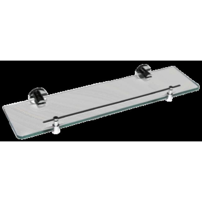 Estanter a 52x12 wagner laton cromado brillo wag15 for Toalleros electricos cromados
