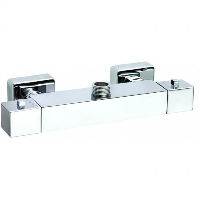 Conjunto de barra rociador y ducha ocean hcomocec for Conjunto ducha termostatica