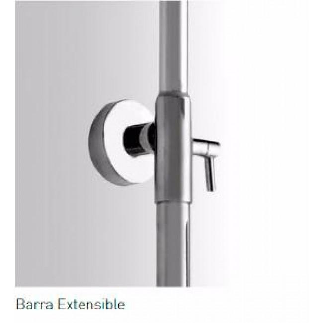 Barra de ducha java ifive aquassent for Barra ducha extensible