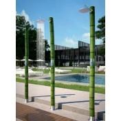 Columna jardín BIO BAMBU temporizada oasis