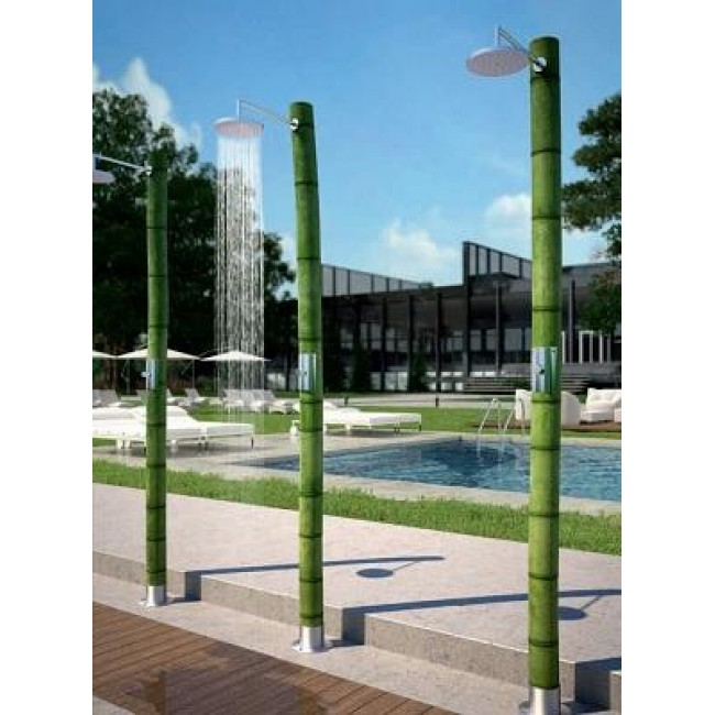 Columna jard n bio bambu temporizada oasis for Jardin bambu
