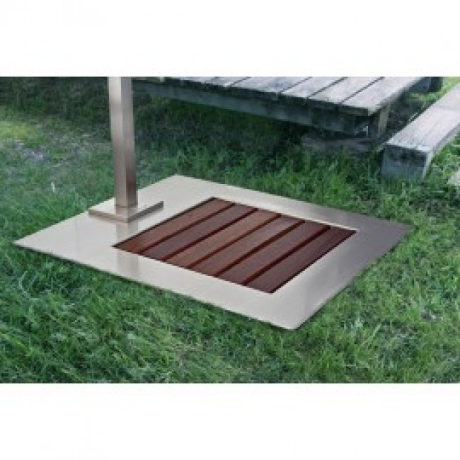Plato ducha chevere jardin piscina oasis star for Ducha piscina pared