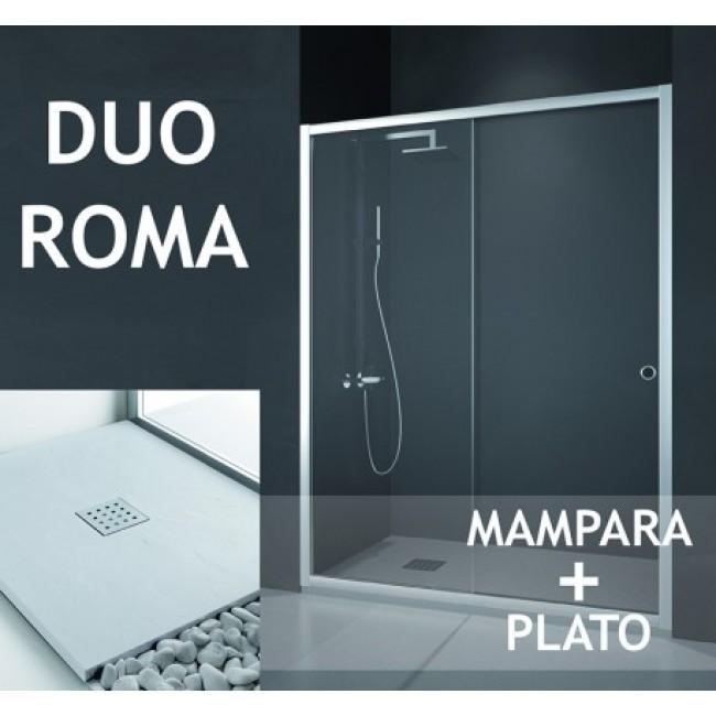 Box ROMA (Mampara+Plato) doccia