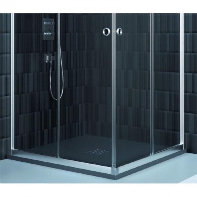 Mampara ducha angular londres doccia - Paves abatible ...