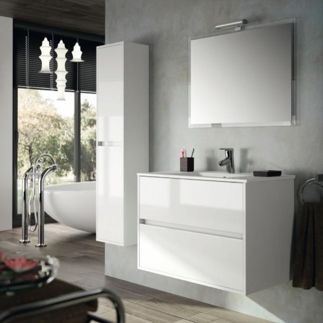 Muebles Baño Blanco Brillo : Mueble de ba?o noja blanco brillo salgar