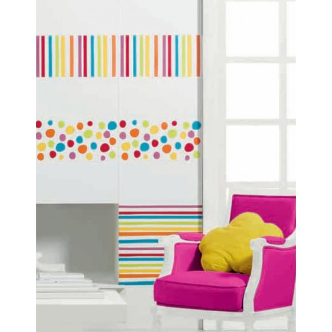agatha 25x50 agatha ruiz de la prada pamesa. Black Bedroom Furniture Sets. Home Design Ideas